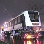 Tréleren egy vezetőállásos kocsi, Fehér út, Budapest (forrás: Hajtó Bálint)