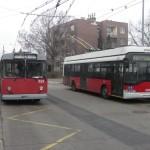A BKK nem szereti a trolikat, most a 74A van soron. (fotó: Müller Péter)